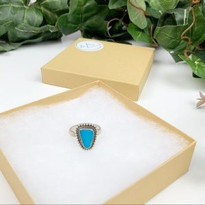 Sundance Turquoise Arrowhead Sterling Silver Ring